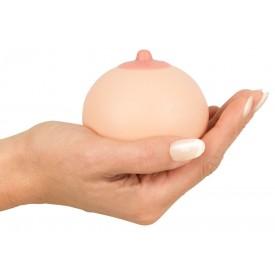 Мягкая сувенирная грудь в форме шарика-антистресс