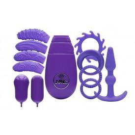 Фиолетовый вибронабор FLIRTY KIT SET